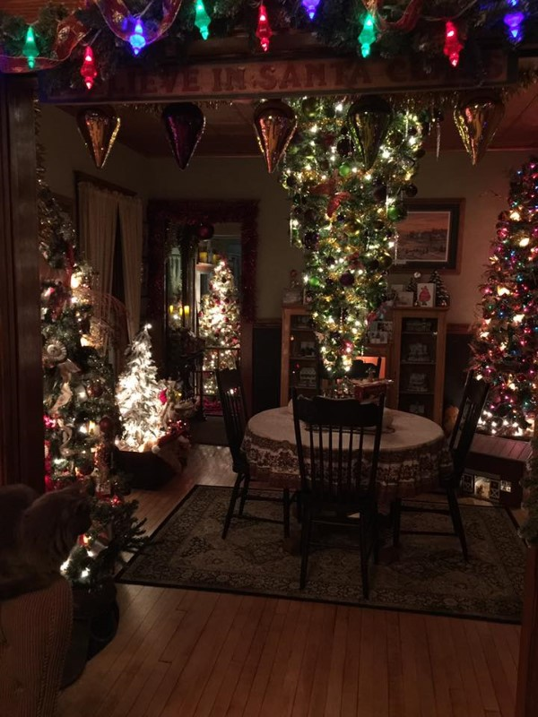 Stunning Vintage Christmas Trees & Village