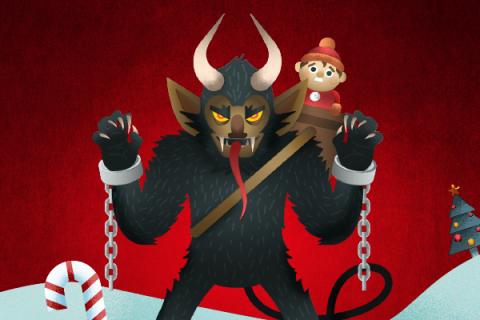 Spookiest 'Santas' from Around the World
