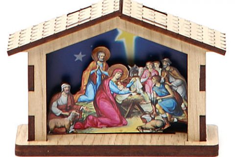 Origin of the Nativity Scene