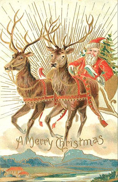 Merry Christmas History and Origin on AllThingsChristmas.com
