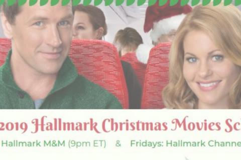 Hallmark Christmas Movie Schedule April 2019