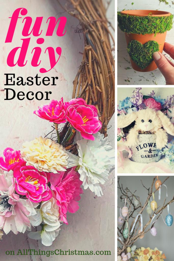 Fun Diy Easter Decor Ideas All Things Christmas