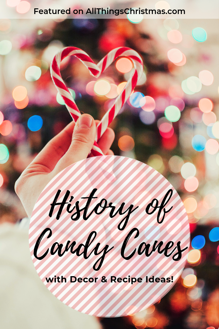 Candy Canes Christmas History on AllThingsChristmas.com