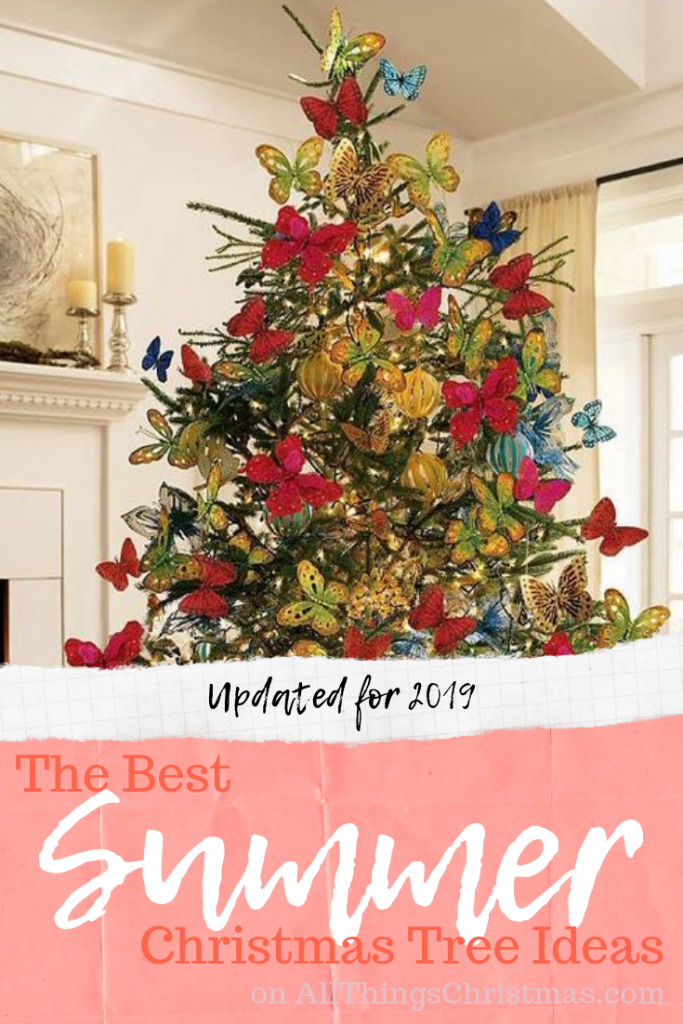 Best Summer Christmas Tree Ideas on AllThingsChristmas.com