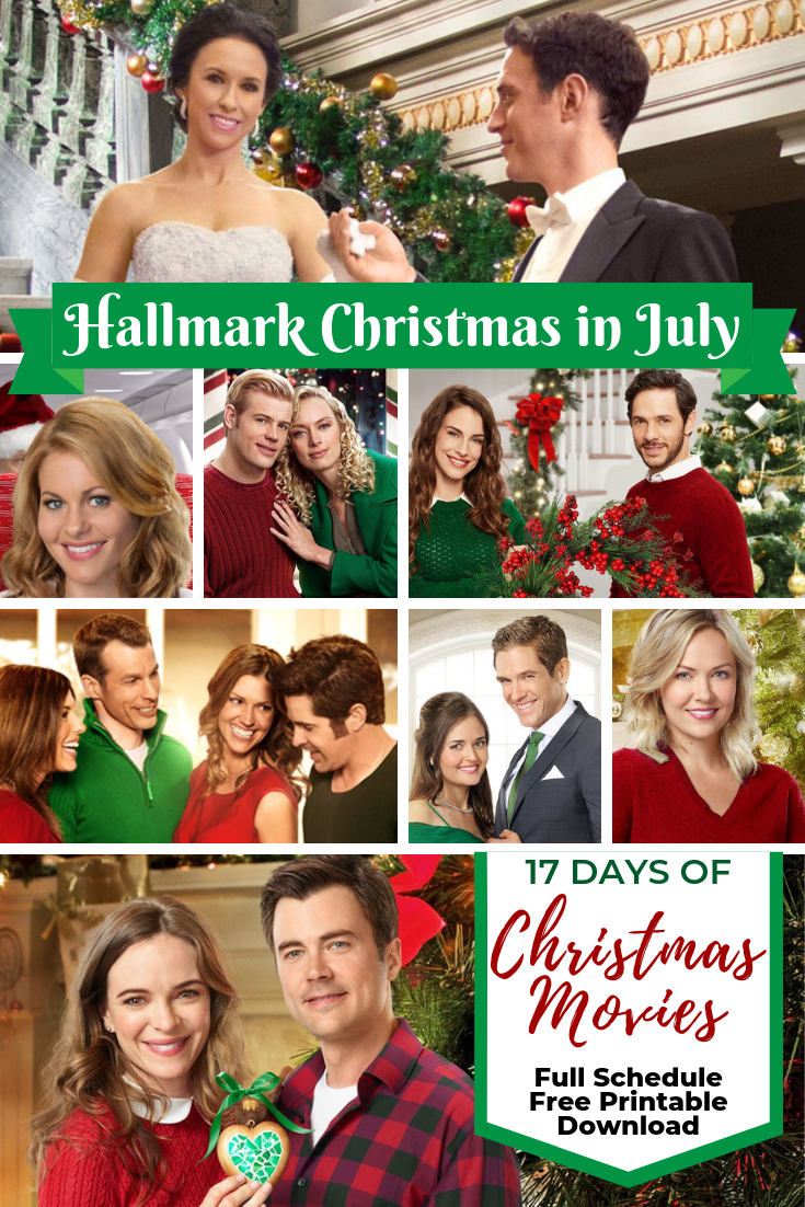Christmas In July Hallmark.Hallmark Christmas In July 2019 Schedule Is Here Updated