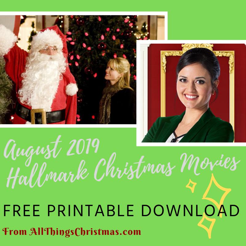 Hallmark Christmas In July 2019 Schedule.August Hallmark Christmas Movie Schedules Free Download