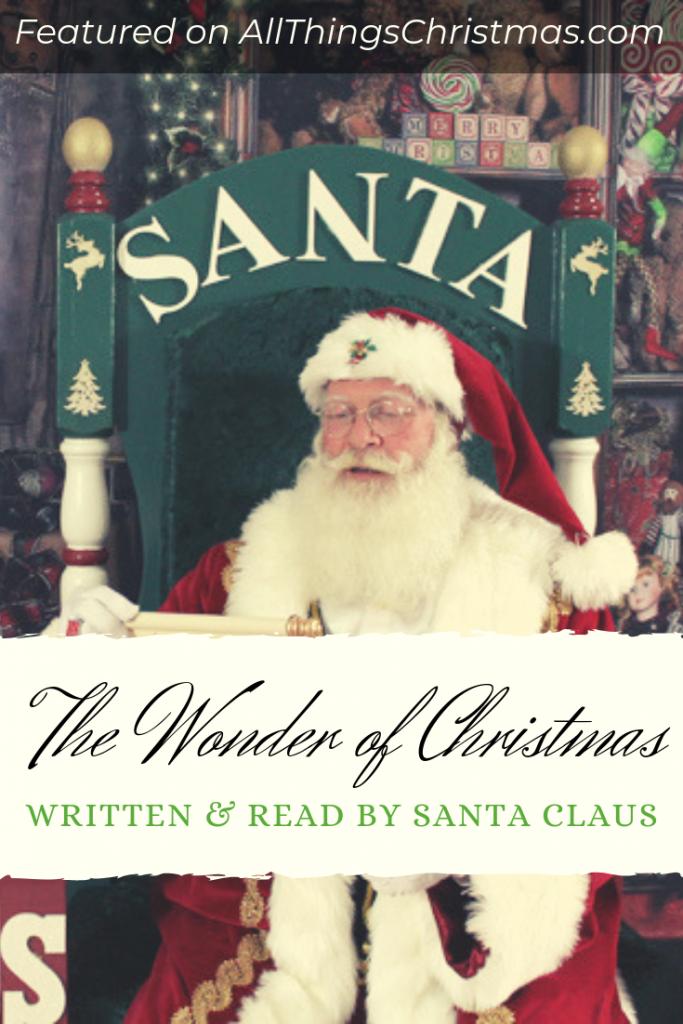 Christmas Poem by Santa Claus