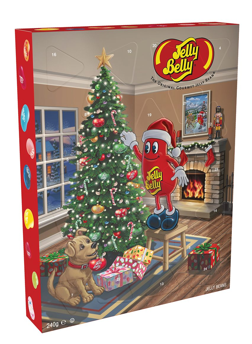 Jelly Belly Advent Calendar 2019 on AllThingsChristmas.com