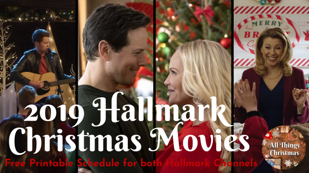 2019 New Hallmark Christmas Movies Full Schedule Free ...