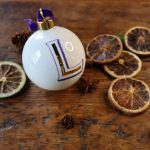 Initial Baubles and Christmas Mugs from McLaggan Smith UK