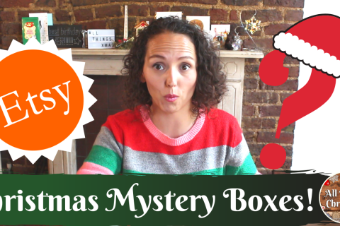 Etsy Christmas Mystery Box Review