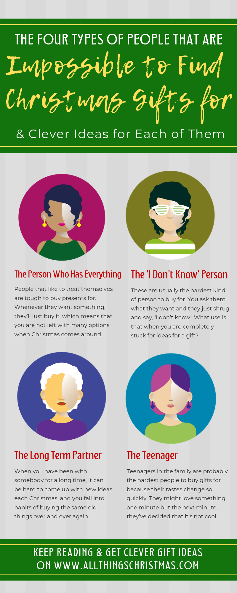 Hard to Buy For People Infographic