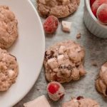 Healthy Cranberry White Chocolate Cookies