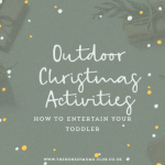 Outdoor Christmas activities for 1yr Olds