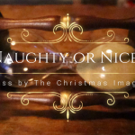 The Naughty and Nice Year Glass from the Christmas Imaginarium