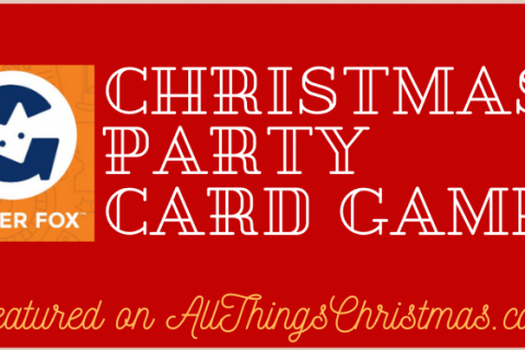 Christmas Party Card Games from Ginger Fox